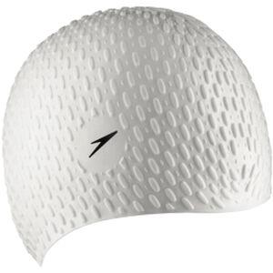 speedo Bubble Cap white