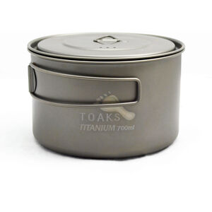 Toaks Light Titanium D115mm Pot 700ml