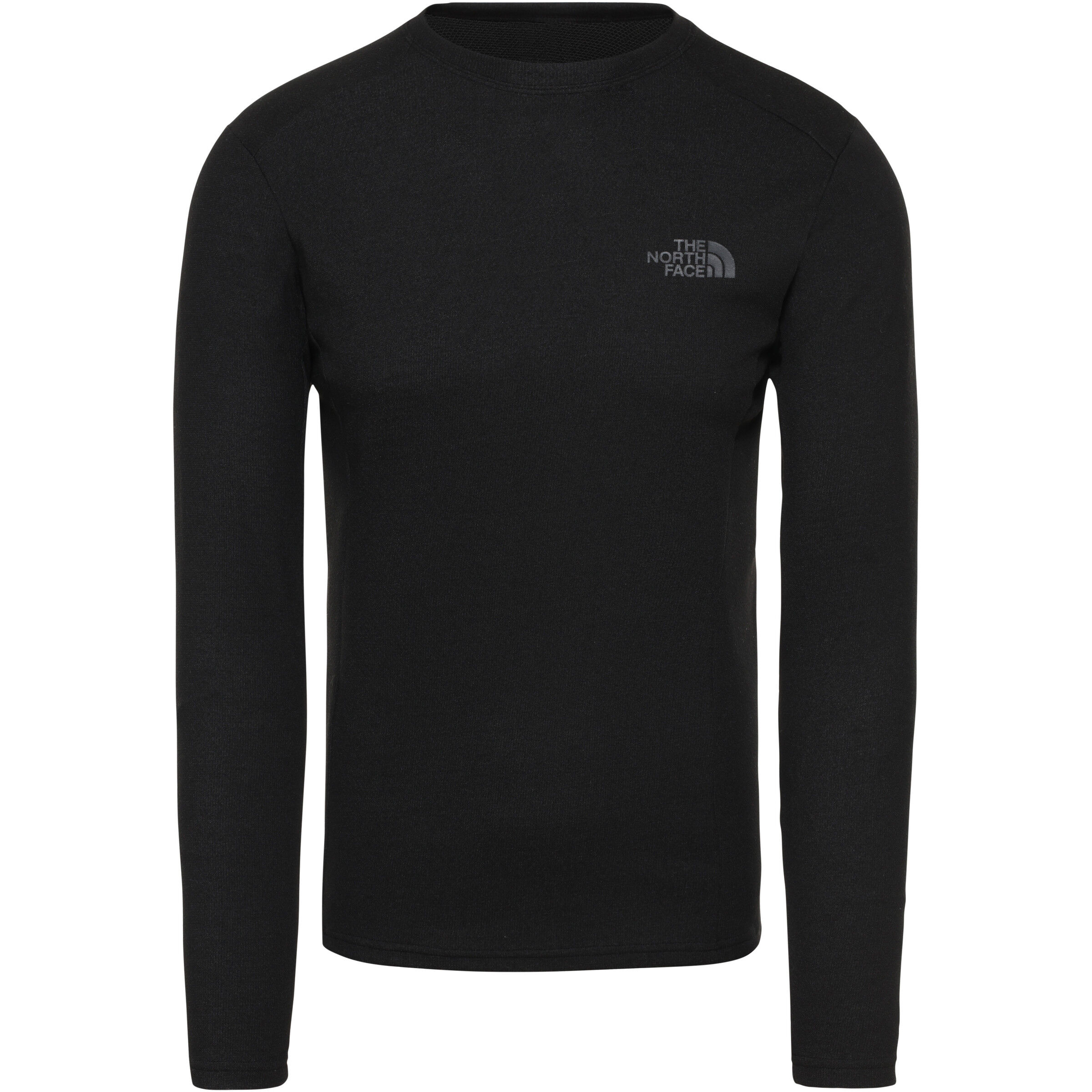 The North Face Easy Langarm Rundhalsshirt Herren tnf black