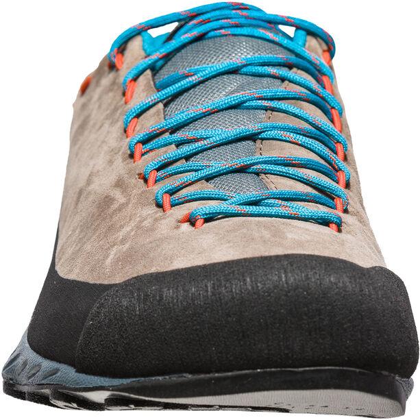 La Sportiva TX2 Leather Shoes Herren falcon brown/tangerine