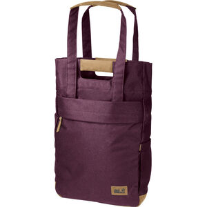 Jack Wolfskin Piccadilly Shopper Bag burgundy burgundy
