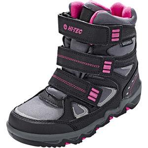 Hi-Tec Thunder WP Shoes Mädchen dark grey/black/fuschia dark grey/black/fuschia