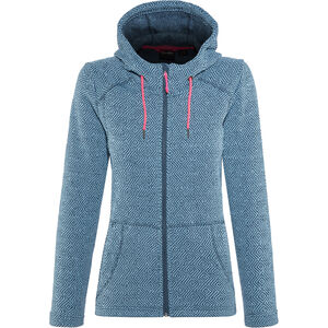 High Colorado Bergamo Strickfleecejacke Damen petrol petrol