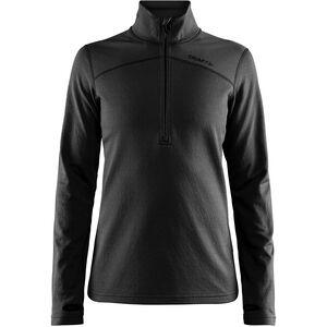 Craft Pin Halfzip Pullover Damen black black