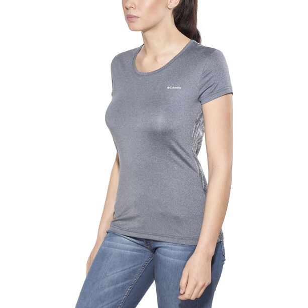 Columbia Peak To Point Novelty Shortsleeve Shirt Damen nocturnal