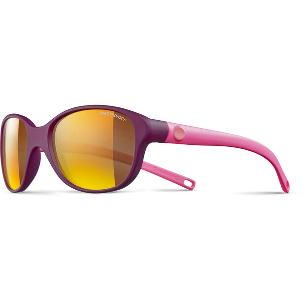 Julbo Romy Spectron 3CF Sunglasses 4-8Y Kinder prune matt/matt pink-multilayer gold