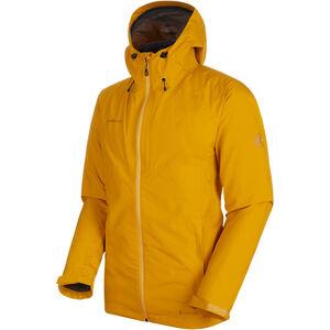 Mammut Convey 3in1 HS Hooded Jacket Herren golden-black golden-black
