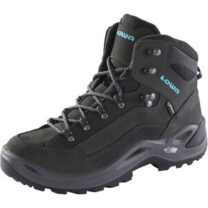 Lowa Renegade GTX Mid Shoes Damen anthracite/turquoise