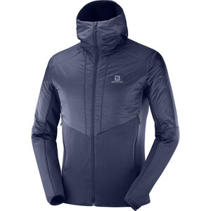 Salomon Outline Warm Jacke Herren night sky night sky