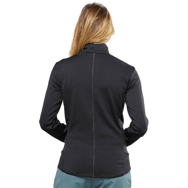 Salomon Discovery Full-Zip Midlayer Damen black