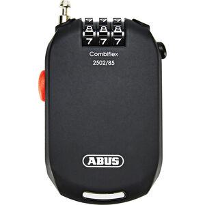 ABUS Combiflex Pro 2502 Roll-Kabelschloss stark Zahlen schwarz schwarz
