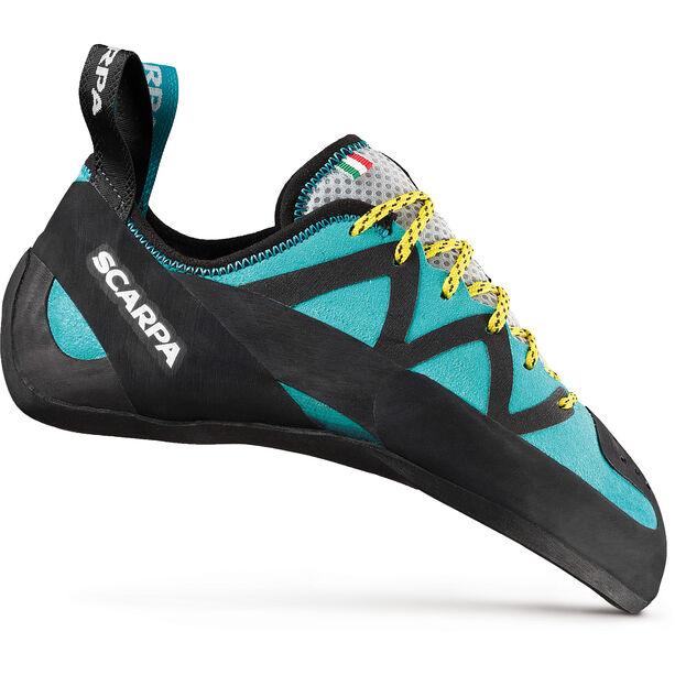 Scarpa Vapor Lace Climbing Shoes Damen dahlia/aqua