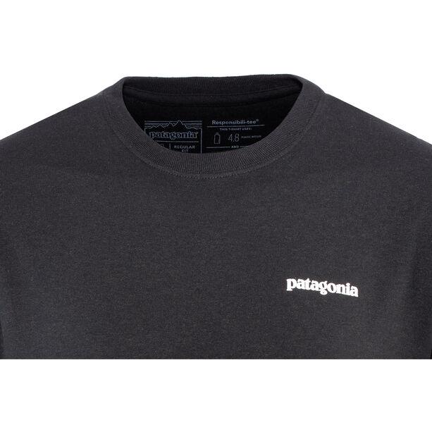 Patagonia P-6 Logo Responsibili-Tee Herren black