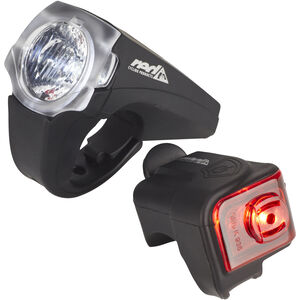 Red Cycling Products PRO 25 Lux Urban LED Beleuchtungs Set schwarz schwarz