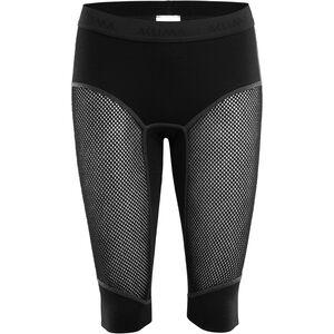 Aclima WoolNet Long Shorts Damen jet black jet black