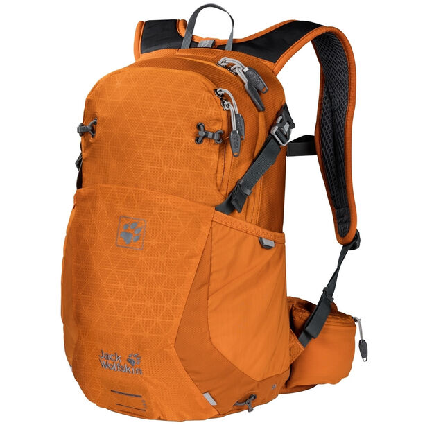 Jack Wolfskin Moab Jam 18 Backpack orange grid