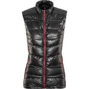 Yeti Argon Ultralight Down Vest Damen black/ribbon red black/ribbon red