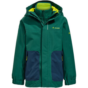 VAUDE Campfire IV 3in1 Jacket Kinder fir forest fir forest