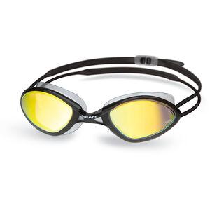 Head Tiger Race Mirrored LiquidSkin Goggles black - smoke black - smoke