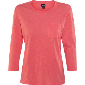 Patagonia Mainstay 3/4 Sleeved Top Damen carve coral carve coral