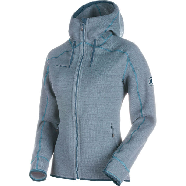 Mammut Arctic ML Hooded Jacket Damen fog-aqua melange