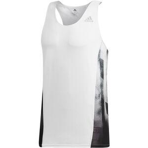 adidas Sub 2 Singlet Herren white/black white/black