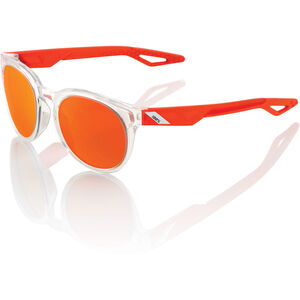 100% Campo Glasses polished crystal clear orange | mirror polished crystal clear orange | mirror