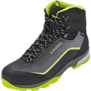 Lowa Irox GTX Mid Shoes Herren black/lime black/lime