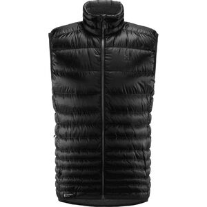 Haglöfs Essens Down Vest Herren true black/magnetite true black/magnetite