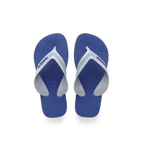 havaianas Max Flips Kinder new graphite/marine blue new graphite/marine blue