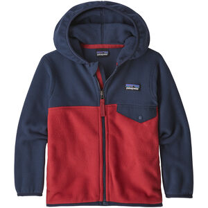 Patagonia Micro D Snap-T Jacket Kinder fire with neo navy fire with neo navy
