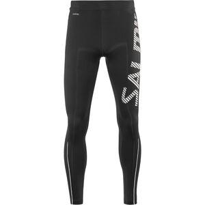 Salming Logo 2.0 Tights Herren black/silver black/silver