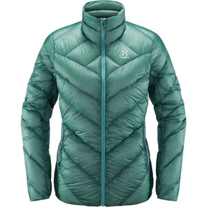 Haglöfs L.I.M Essens Jacke Damen glacier green glacier green