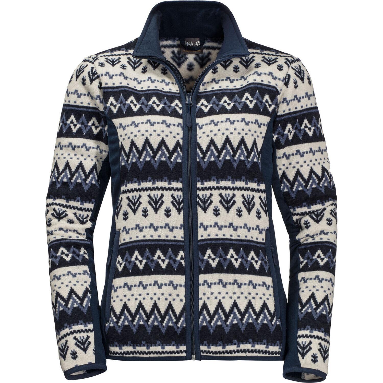 Jack Wolfskin Nordic Flex Fleece Jacke Damen midnight blue