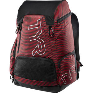 TYR Alliance Team Rucksack 45l carbon/red carbon/red