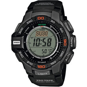 CASIO PRO TREK PRG-270-1ER Watch Men black/black/grey black/black/grey