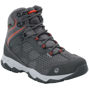Jack Wolfskin Rock Hunter Texapore Mid Shoes Damen pebble grey/orange pebble grey/orange
