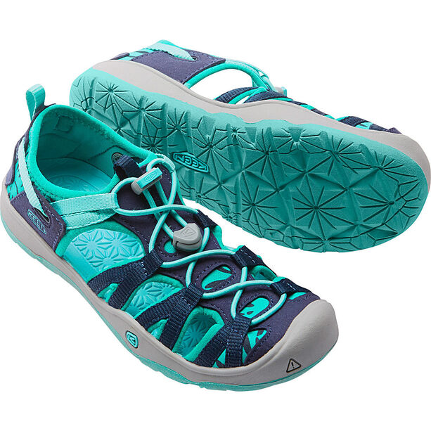 Keen Moxie Sandals Kinder dress blues/viridian
