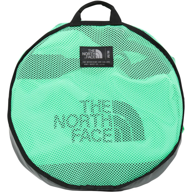 The North Face Base Camp Duffel M chlorophyll green/tnf black