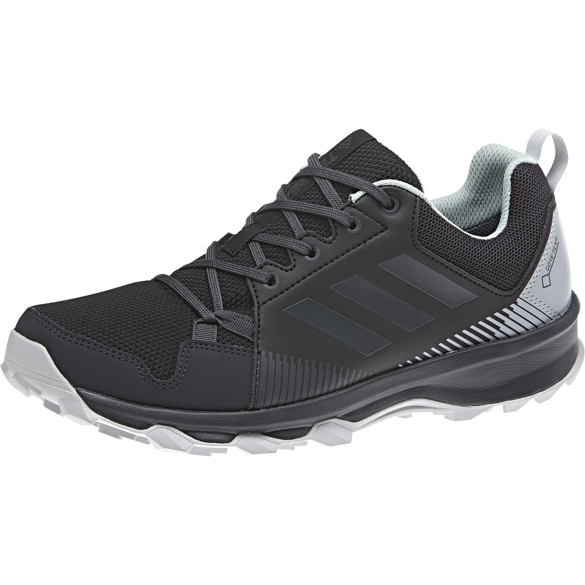 adidas TERREX TraceRocker GTX Trail Running Shoes Damen core blackcarbonash green