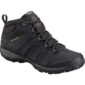 Columbia Woodburn II Chukka WP Omni-Heat Schuhe Herren black/goldenrod black/goldenrod