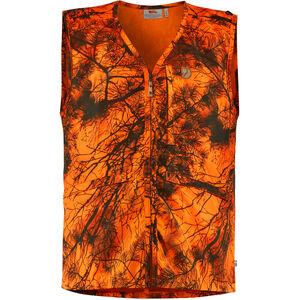 Fjällräven Värmland Weste Herren orange camo orange camo