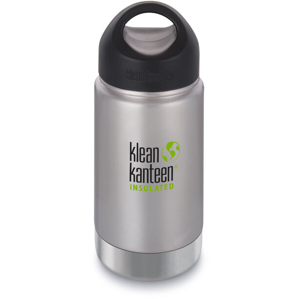 Klean Kanteen Wide Vacuum Insulated Bottle Stainless Loop Cap 355ml brushed stainless