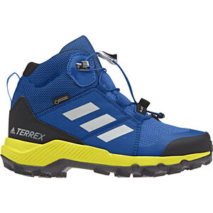 adidas TERREX Mid GTX Shoes Kinder blue beauty/grey one/shoyel blue beauty/grey one/shoyel