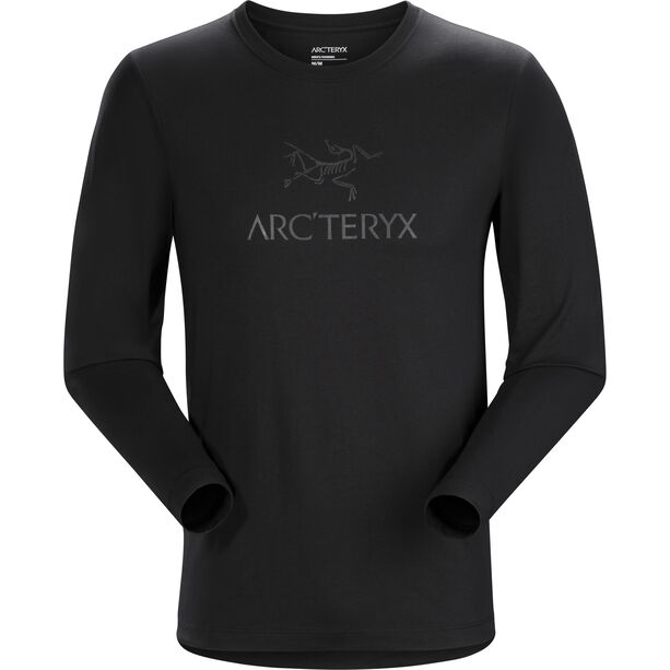 Arc'teryx Arc'Word Langarm T-Shirt Herren black