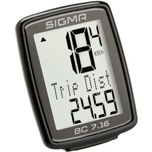 SIGMA SPORT BC 7.16 Fahrradcomputer kabelgebunden