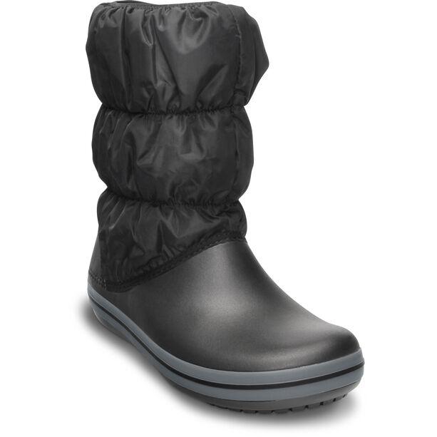 Crocs Winter Puff Boots Damen black/charcoal