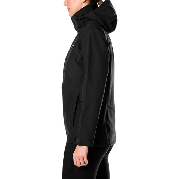 Berghaus Hillwalker Lange InterActive Shell Jacke Damen black/black