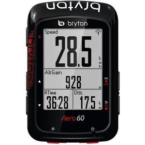 Bryton Aero 60 Fahrradcomputer schwarz schwarz