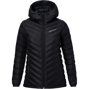 Peak Performance Frost Down Hooded Jacket Damen black black